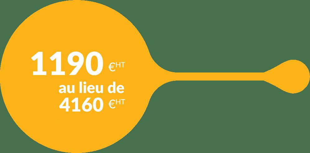 Pack tarif création d'entreprise