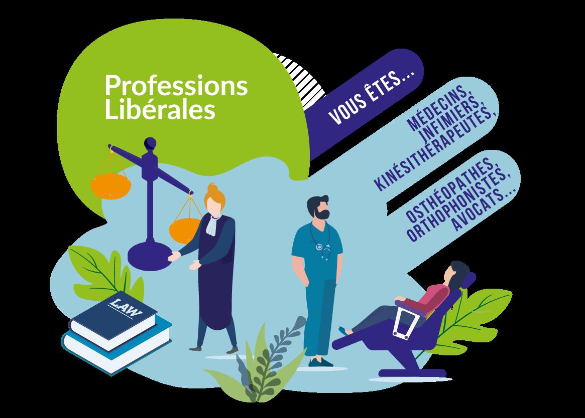 Pack professions libérales, accompagnement des professionnels, comptabilité