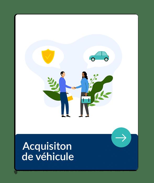 Entreprise, l'acquisition d'un véhicule, bien mobilier