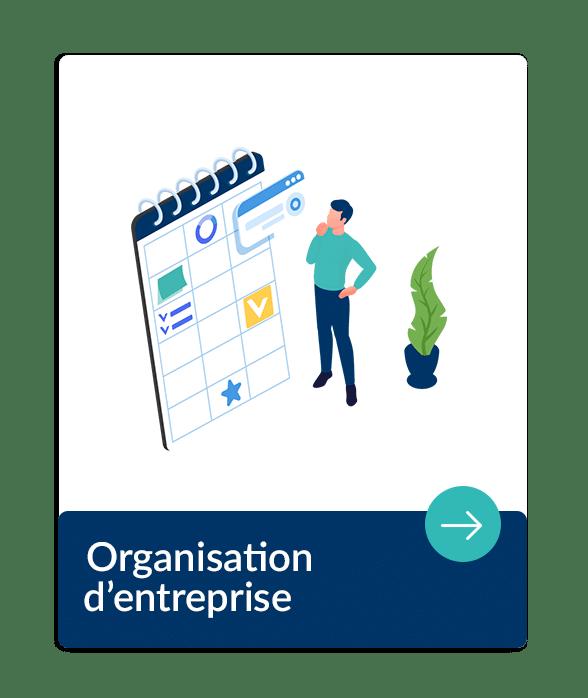 organisation pilotage administratif et financière de l'entreprise