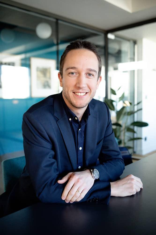 portrait Bertrand Ballochi, expert comptable Lyon